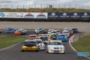 Start DNRT Sportklasse Nynke de Vries - Alexander Japin - DNRT Super Race Weekend - Circuit Park Zandvoort