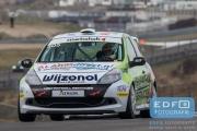 Sebastiaan Bleekemolen - Rene Steenmetz - Michael Bleekemolen - Team Bleekemolen - Renault Clio - DNRT WEK Final 4 2015 - Circuit Park Zandvoort