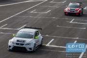 Robin Monster - Dennis Houweling - Ferry Monster Autosport - SEAT Leon Cupracer - DNRT WEK Final 4 2015 - Circuit Park Zandvoort