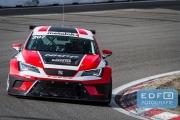 Gijs Bessem - Roger Grouwels - NKPP Racing - SEAT Leon Cupracer - DNRT WEK Final 4 2015 - Circuit Park Zandvoort