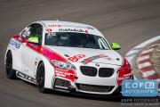 Maxim Aronov - Dmitrii Bogoiavlenskii - Lev Fridman - Team Securtal Sorg Rennsport - BMW M235i - DNRT WEK Final 4 2015 - Circuit Park Zandvoort