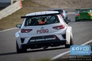 Dennis de Borst - Jaap van Lagen - FEBO FMA Racing - SEAT Leon Cupracer - DNRT WEK Final 4 2015 - Circuit Park Zandvoort