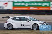 Bas Schouten - Martin van den Berge - ST Motorsport - SEAT Leon Cupracer - DNRT WEK Final 4 2015 - Circuit Park Zandvoort