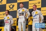 António Félix da Costa - Marco Wittmann - Maxime Martin - podium - DTM Circuit Park Zandvoort