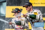 António Félix da Costa - Marco Wittmann - podium - DTM Circuit Park Zandvoort
