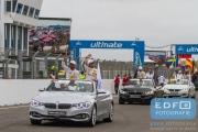 Timo Glock - Bruno Spengler - Rijdersparade - BMW Team MTEK - DTM Circuit Park Zandvoort