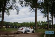 Martin van Iersel - Sylvia Visser - Mitsubishi Lancer EVO 10 R4 - ELE Rally 2014