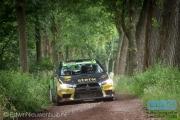 Antoine van Ballegooijen - Johan Findhammer - Mitsubishi Lancer EVO 10 - ELE Rally 2014