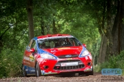 Mats van den Brand - Eddy Smeets - Ford Fiesta R2 - ELE Rally 2014