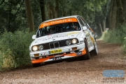 Pieter van Gompel - Wim Vleugels - BMW M3 E30 - ELE Rally 2014