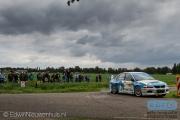 Johan Faes - Christiaan van der Rijsen - Mitsubishi Lancer EVO 9 - ELE Rally 2014