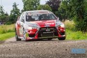 Claude Bal - Johan van Houdt - Mitsubishi Lancer EVO 10 R4 - ELE Rally 2014