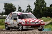Wim Stevens - Wesley Stevens - Peugeot 205 GTi - ELE Rally 2014