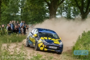 Timo van der Marel - Rebecca Smart - Ford Fiesta R2 - ELE Rally 2014