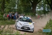 Mattias Olsson - Sophia Karlsson - Ford Fiesta R2 - ELE Rally 2014