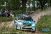 Rene Wawrzyniak - Chris van Waardenburg - Citroen C2 R2 Max - ELE Rally 2014