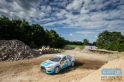 Arjen de Koning - Sander van Barschot - Mitsubishi Lancer EVO 10 R4 - ELE Rally 2014