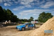 Kevin Kooijman - Hans van Goor - Mitsubishi Lancer EVO 10 R4 - ELE Rally 2014