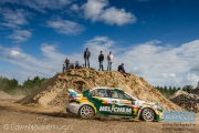 Henk Vossen - Jac Gillis - Mitsubishi Lancer EVO 10 - ELE Rally 2014