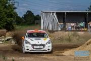 Piet-Hein van der Heijden - Johan Schop - Peugeot 208 VTI 125 R2 - ELE Rally 2014