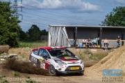 Kevin van Deijne - Annemieke Hulzebos - Ford Fiesta R2 - ELE Rally 2014