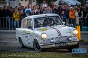 Leon Meijers - Ford Anglia - Classic ELE Rally 2014
