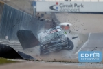 Mark Verhaegh - Neleman Racing - BMW E30 325 - Final 4 2017 Circuit Park Zandvoort - Crash