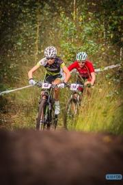 Ailce Pirard - Anne Tauber - MPL Stappenbelt MTB Trophy 2014 - Apeldoorn