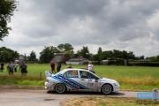 Ernst Kranenburg - Peter van Teunenbroek - Mitsubishi Lancer EVO 8 - GTC Rally 2014 - Etten-Leur
