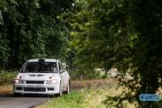 Hans Ole Funch - Thomas Funch - Mitsubishi Lancer EVO 7 - GTC Rally 2014 - Etten-Leur