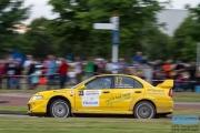 Ronald Leemans - Remco van Overdijk - Mitsubishi Lancer EVO 6 - GTC Rally 2014 - Etten-Leur