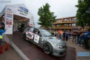 Edwin Schilt - Lisette Bakker - Subaru Impreza WRC S14 - GTC Rally 2014 - Podium Etten-Leur