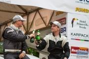 Bob de Jong - Kees Hagman - Mitsubishi Lancer WRC 05 - GTC Rally 2014 - Podium Etten-Leur