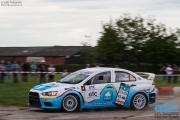 Arjen de Koning - Sander van Barschot - Mitsubishi Lancer EVO 10 R4 - GTC Rally 2014 - Etten-Leur