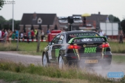 Antoine van Ballegooijen - Johan Findhammer - Mitsubishi Lancer EVO 10 R4 - GTC Rally 2014 - Etten-Leur