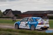 Johan Faes - Christiaan van der Rijsen - Mitsubishi Lancer EVO 9 - GTC Rally 2014 - Etten-Leur