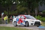 Han Hoendervangers - Lieke Bouman-Dautzenberg - Mitsibishi Lancer EVO 10 R4 - GTC Rally 2014 - Etten-Leur