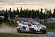 Kevin van Dijne - Annemieke Hulzebos - Ford Fiesta R2 - GTC Rally 2014 - Etten-Leur