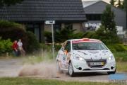 Piet-Hein van der Heijden - Johan Schop - Peugeot 208 R2 - GTC Rally 2014 - Etten-Leur