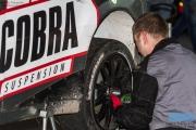Edwin Schilt - Lisette Bakker - Service - Subaru Impreza WRC S14- GTC Rally 2014 - Etten-Leur