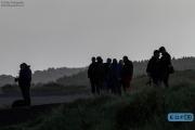 Publiek wacht in de vroege ochtend op het spektakel bij de Historic Grand Prix Zandvoort