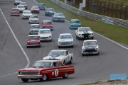 Voyazides - Hadfield - Ford Falcon - Pre '66 Touring Cars - Historic Grand Prix Zandvoort