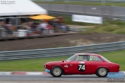 Wright - Salvadori - Alfa Romeo Giulia GTA - Pre '66 Touring Cars - Historic Grand Prix Zandvoort