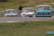 Andrea Sortoni - Laurent Majou - Ken Welch - Mini Cooper S - Pre '66 Touring Cars - Historic Grand Prix Zandvoort