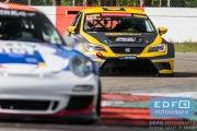 Dennis Houweling - Priscilla Speelman - Ferry Monster Autosport - SEAT Leon Cup Racer - Supercar Challenge - New Race Festival - Circuit Zolder