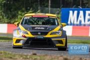 Dennis Houweling - Priscilla Speelman - Ferry Monster Autosport - Seat Sport Leon Cup Racer - Supercar Challenge - New Race Festival - Circuit Zolder