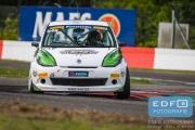 Wiebe Wijtzes - EMG Motorsport - Renault Clio 3 - Supercar Challenge - New Race Festival - Circuit Zolder