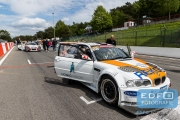 Marcel van de Maat - Peter Schreurs - BS Racing Team - BMW E46 GTR - Supercar Challenge - New Race Festival - Circuit Zolder