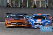 Sijthoff - Sijthoff - V8 Racing - Mercedes SLS GT3 - Kelvin Snoeks - Day-V-Tec - Volvo S60 V8 - Supercar Challenge - New Race Festival - Circuit Zolder