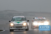 Christ van der Peijl - Michel Le Noble - REC Racing - Peugeot 206 GTi